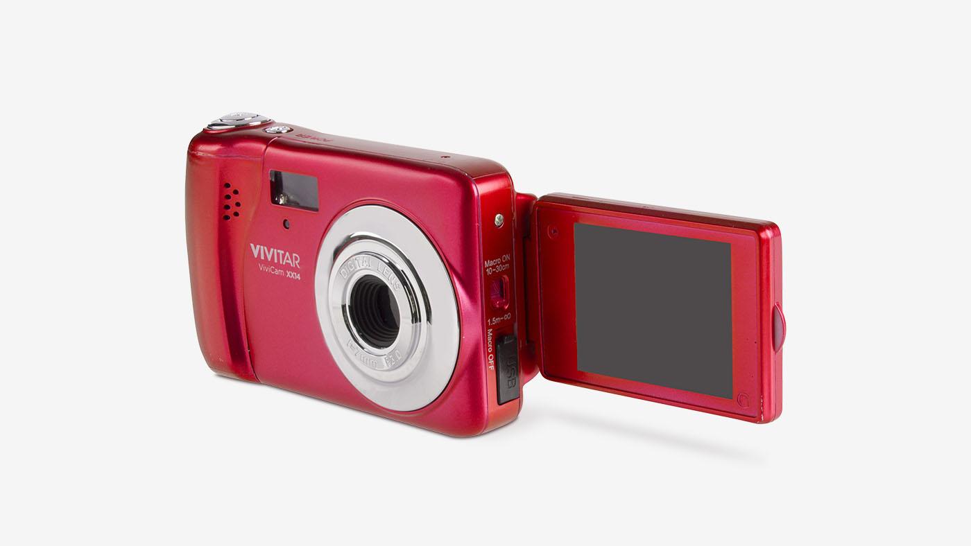 Vivitar XX14 Digital Camera in Red