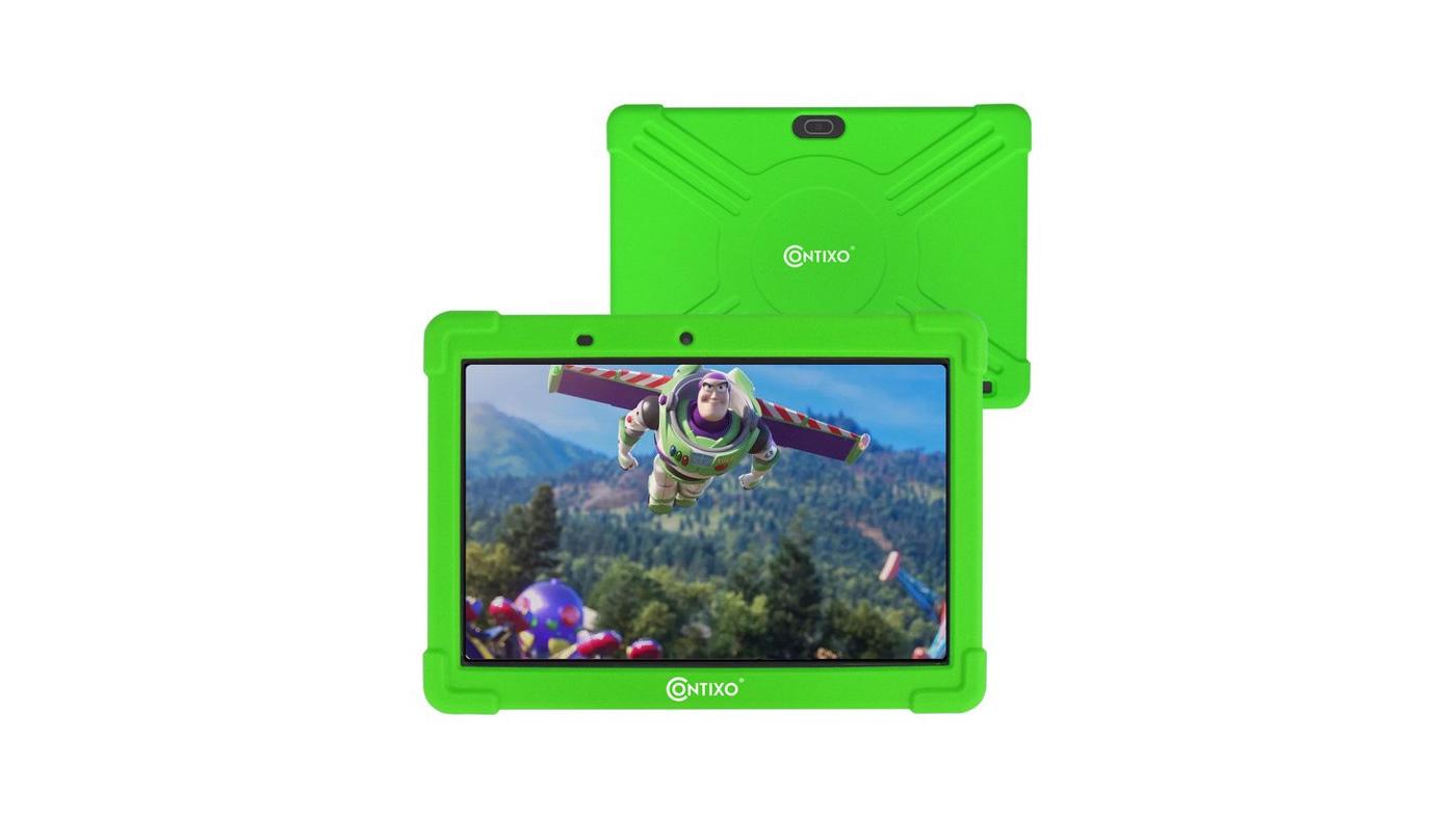 Contixo K101A-Green 10-inch IPS Display Kids Tablet