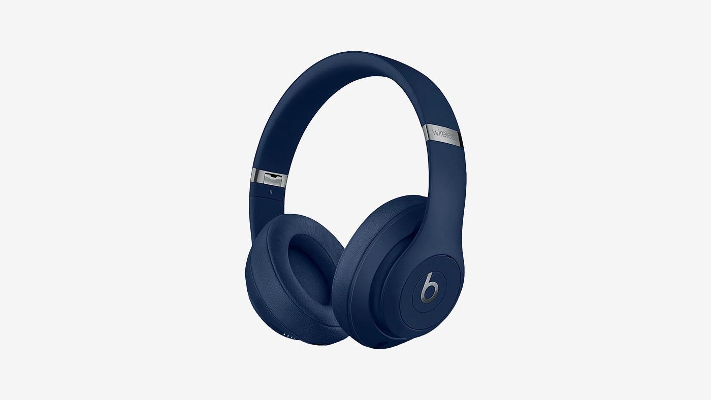 Refurbished Beats by Dr. Dre Studio3 Wireless Blue Over-Ear Headphones