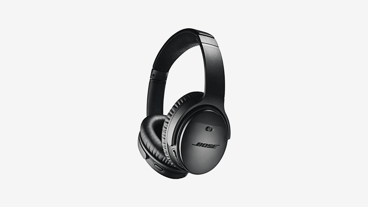 Bose QuietComfort 35 Wireless Headphones, Noise Cancelling Black