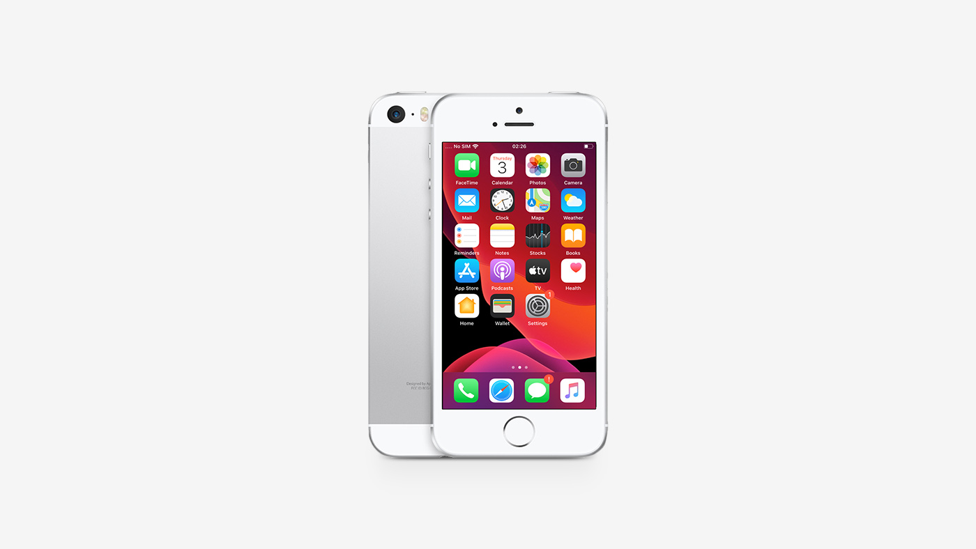 Apple iPhone SE 64GB Silver LTE Cellular T-Mobile
