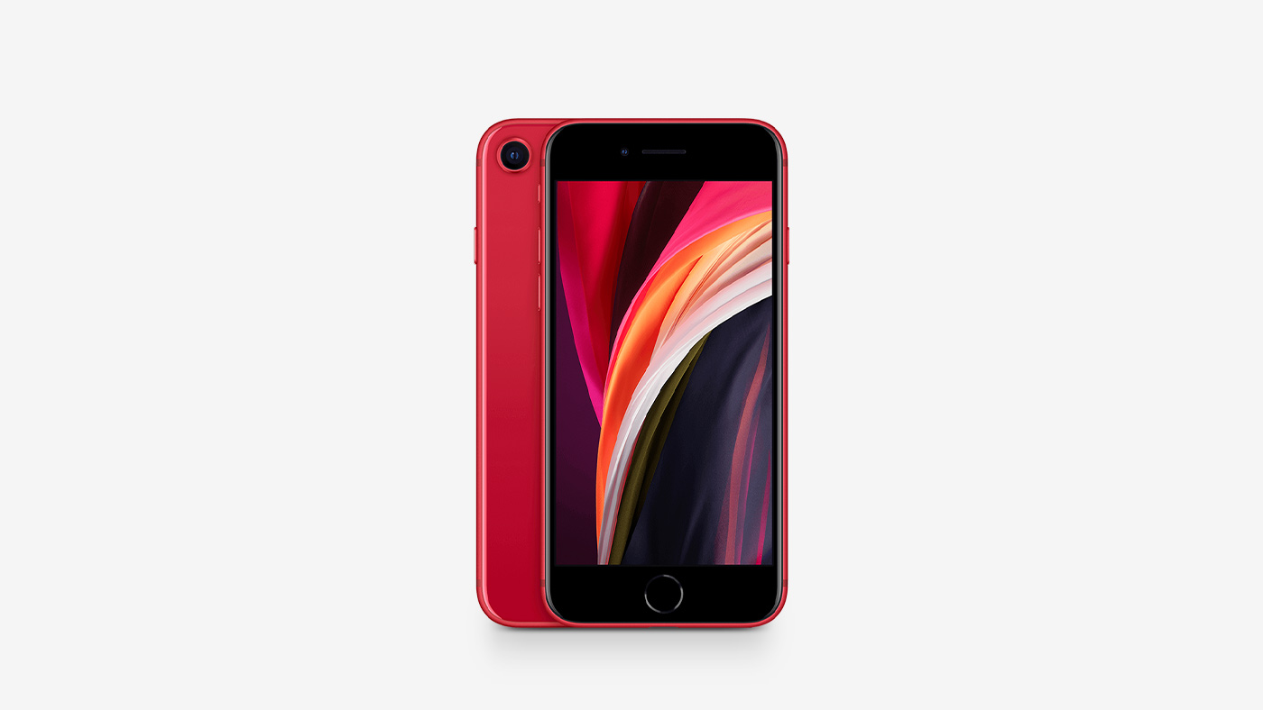 Apple iPhone SE 2 64GB Red LTE Cellular Straight Talk/TracFone