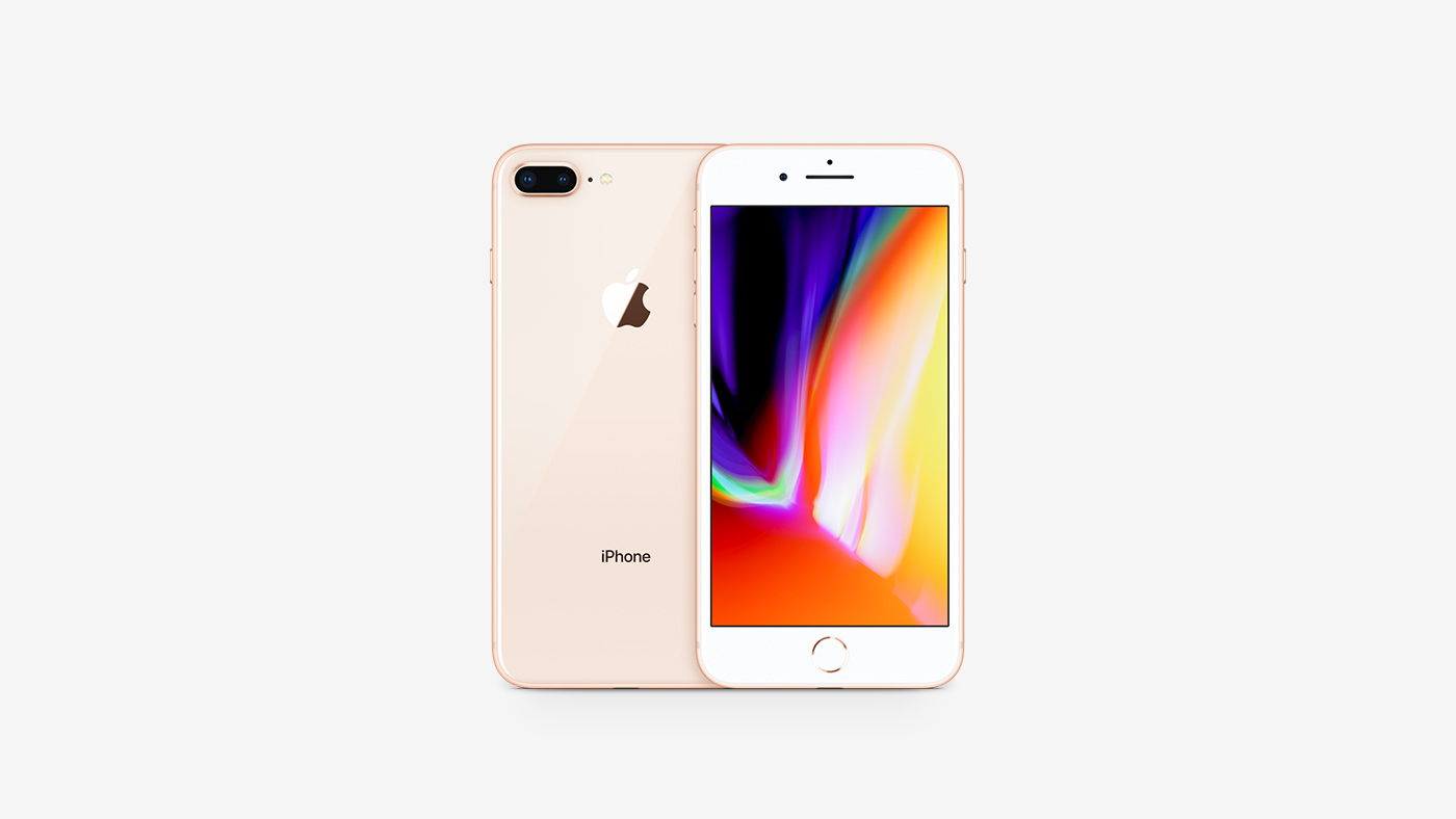 Apple iPhone 8 Plus 64GB Gold LTE Cellular T-Mobile