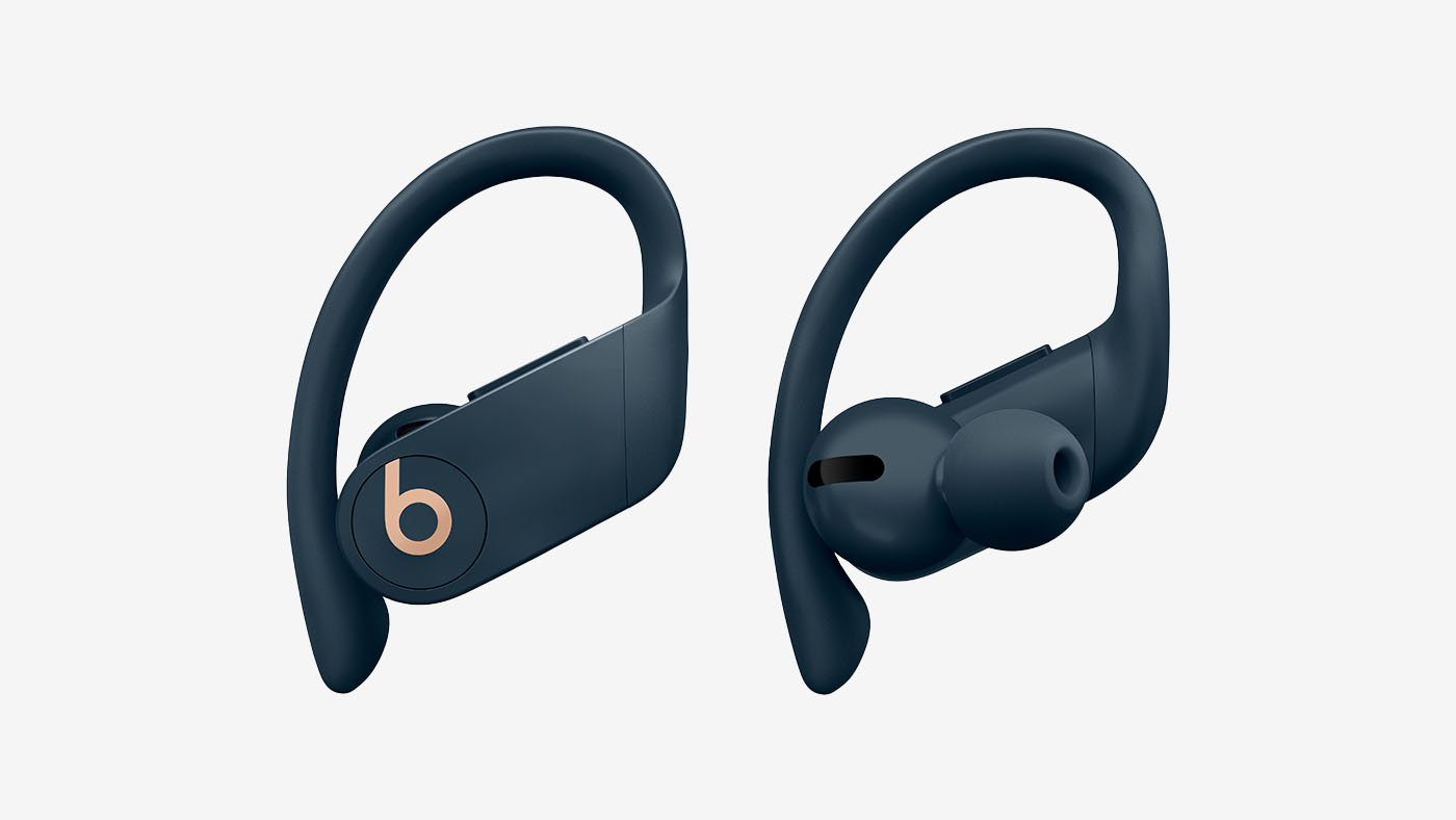 Refurbished Beats by Dr. Dre Powerbeats Pro Totally Wireless Navy